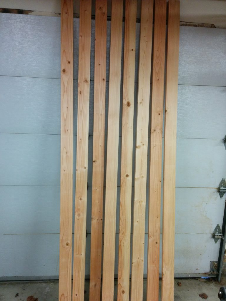 Workbench: Part 1 – Milling down some 2 X 4s