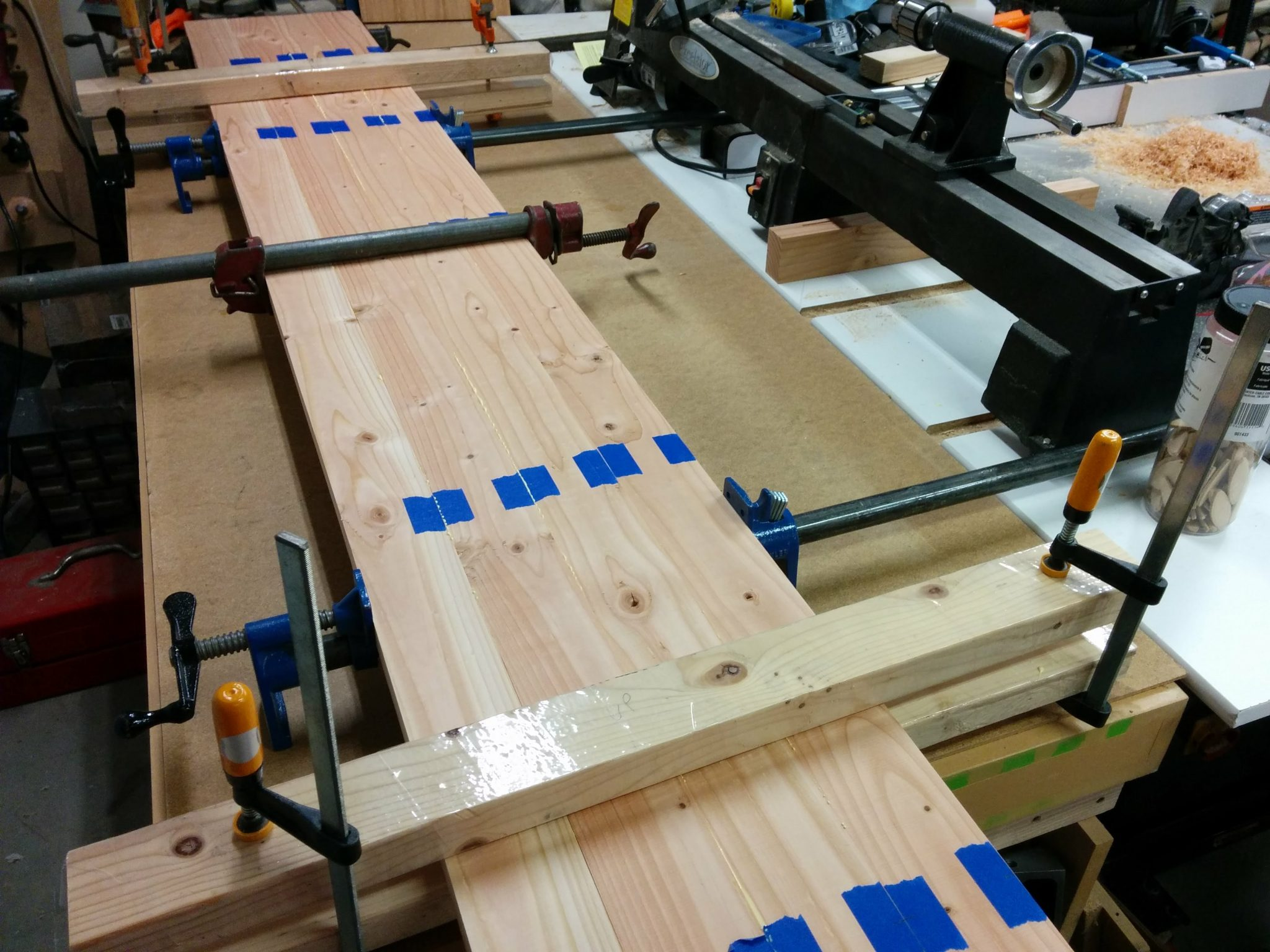 Workbench: Part 2 – Gluing up the top