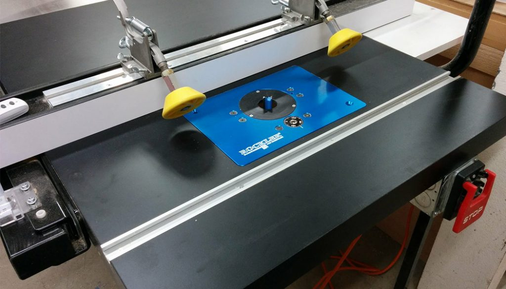 Table Saw Enhancement – Converting Extension Table Into Router Table.