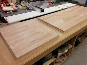 Workbench: Part 5 – Cutting the benchtop to size