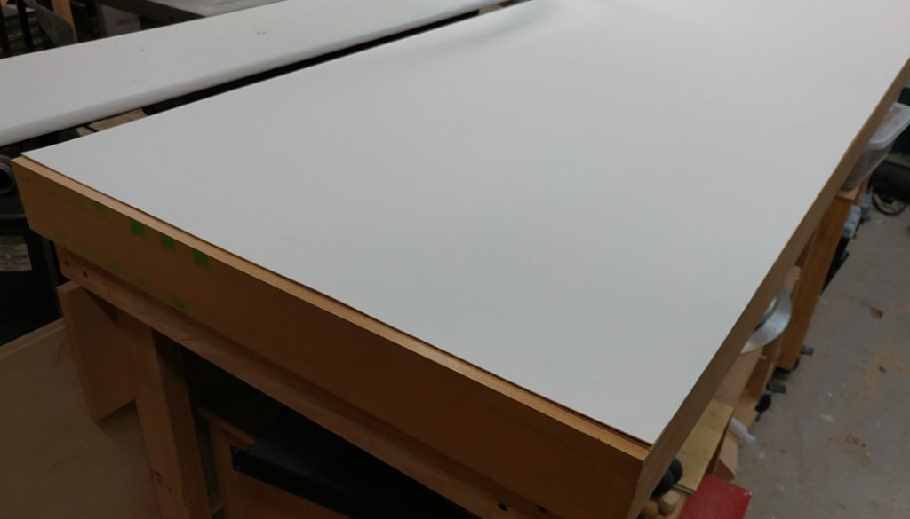 Workbench/Outfeed Table Work Surface