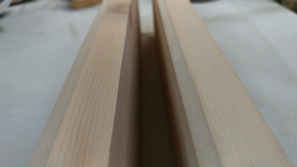 The edges of the drawer bases are nice and smooth.