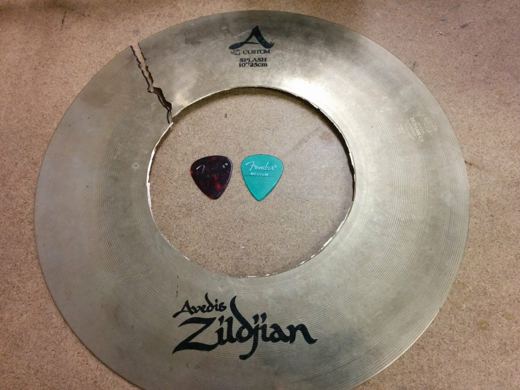 "Zildjian A Custom 10"" Splash."