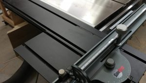 Table Saw Enhancement – Attaching Sliding Crosscut Table Without Cutting Down the Rails.