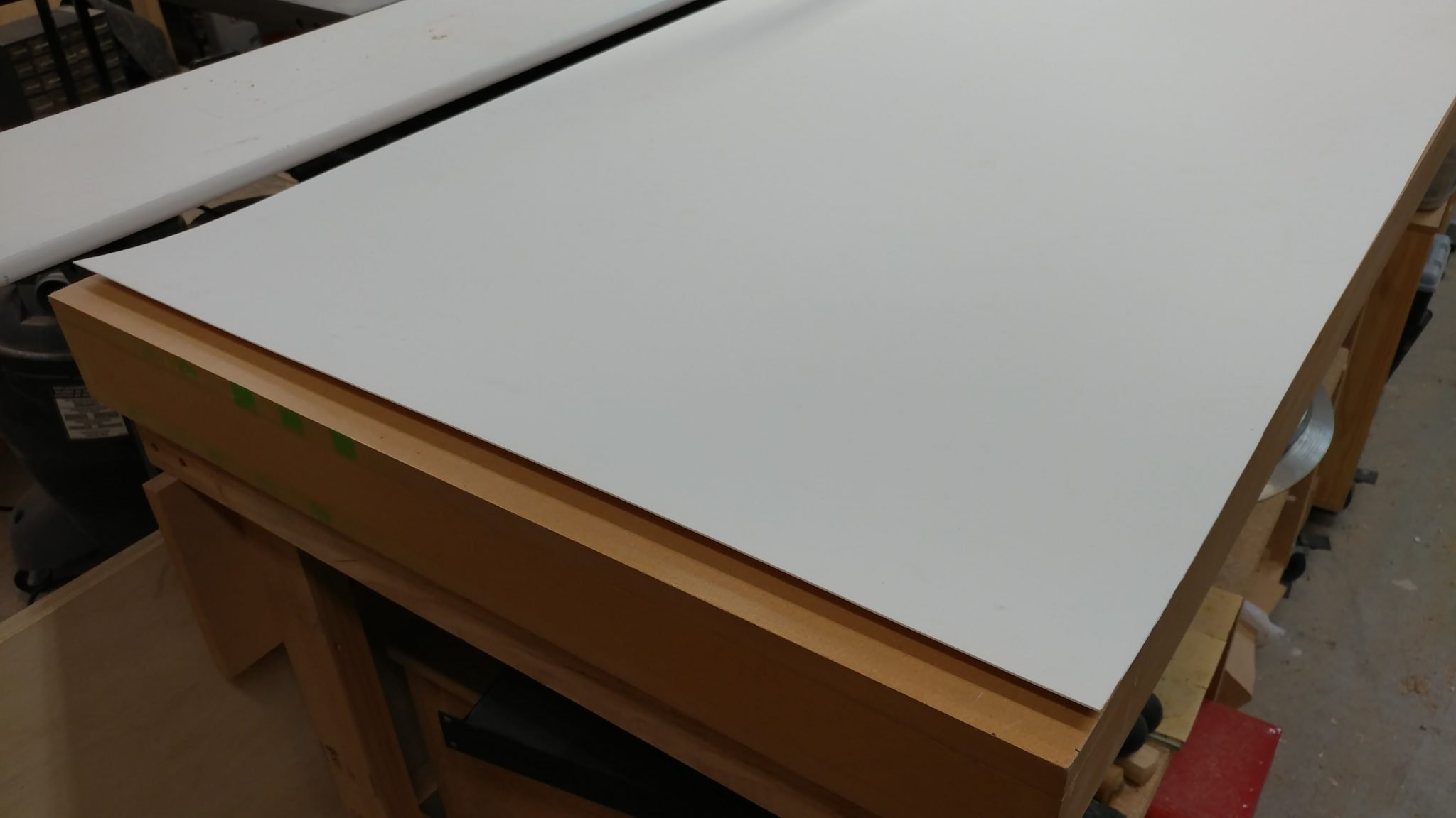 workbench/outfeed table work surface - trentdavis