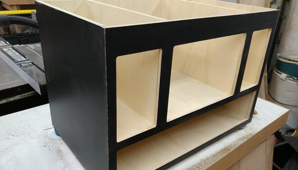 Table Saw Modification – Router Table Enclosure: Part 2 – Laminate