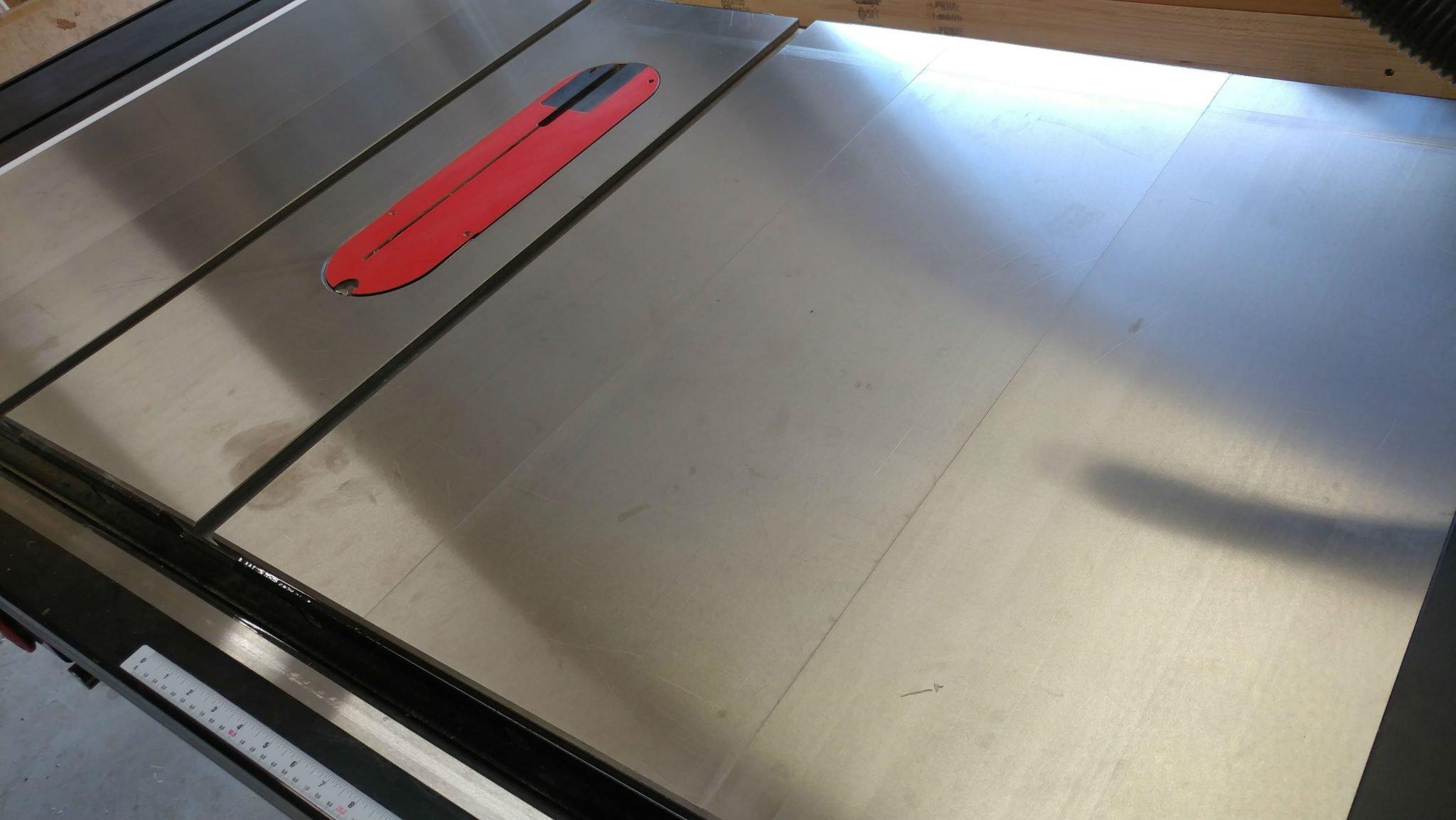 Tool Maintenance - Protecting A Cast Iron Tabletop - TrentDavis.net
