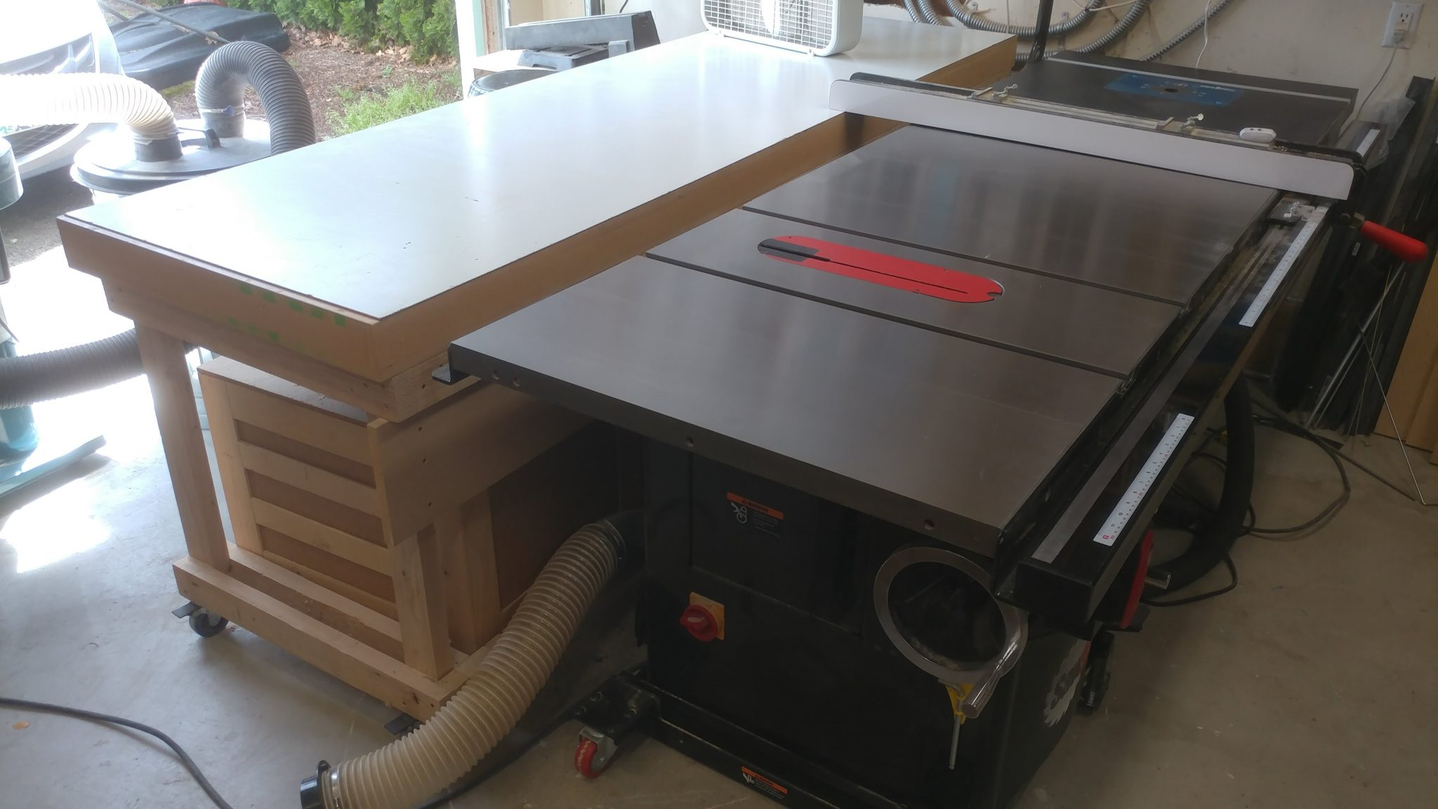News – May 7th, 2018 – New Router Table and Emptying The Coffee Cans